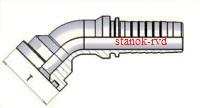 ФИТИНГ-ФЛАНЕЦ SFS УГЛОВОЙ 45 градусов, SAE J516/J518, ISO 6162-1/-2, CODE62, SAE FLANGE 6000psi