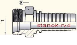 ФИТИНГ DKOS CES DIN 2353/3865 ISO8434-4 DIN ISO12151-2 штуцер