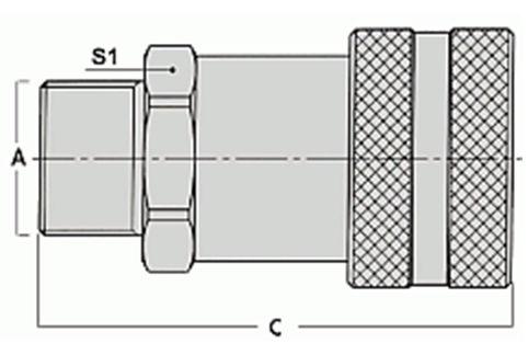 БЫСТРОРАЗЪЁМНЫЕ СОЕДИНЕНИЯ (БРС) HPA, БРСД001
