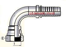 ФИТИНГ BSP ISO 228-1 УГЛОВОЙ 90 градусов ISO 8434-6 BS 5200