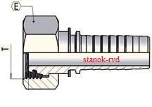ФИТИНГ DKOS CES DIN 2353/3865 ISO8434-4 DIN ISO12151-2 прямой