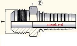 ФИТИНГИ JIС (Ш) ШТУЦЕР SAE J514 и ISO 725 или ISO 8434-2